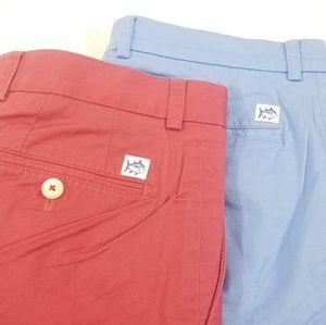 Lot of 2 Southern Tide classic fit shorts mens 34